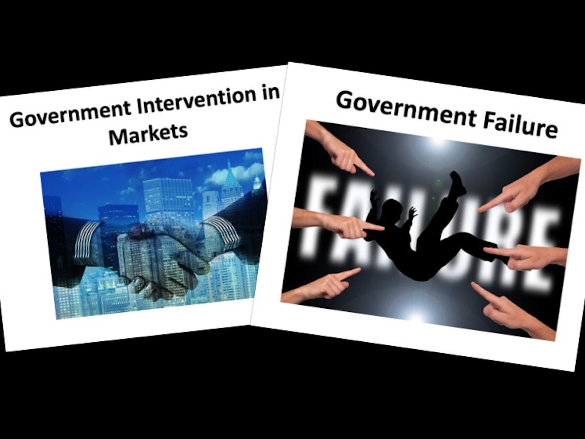 Government Intervention - A level Economics [2 Lessons]