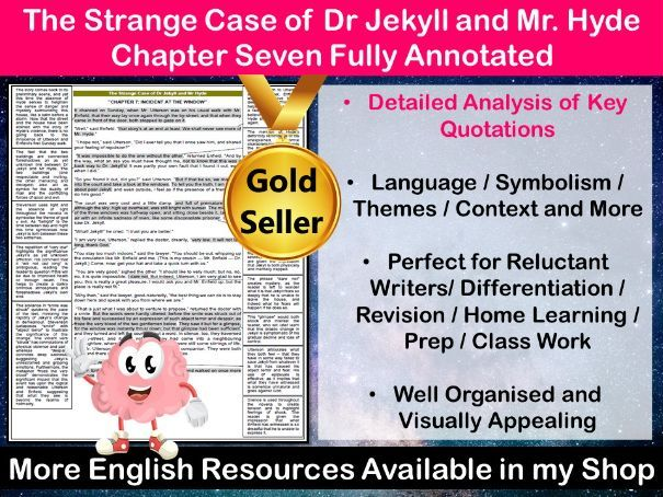 The Strange Case of Dr Jekyll and Mr Hyde Chapter 7 Fully Annotated