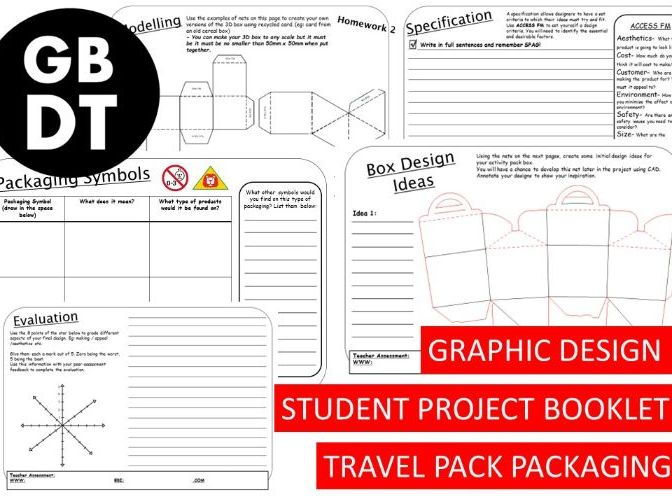ENTIRE PROJECT - Graphics / Packaging Focus  - Student Booklet