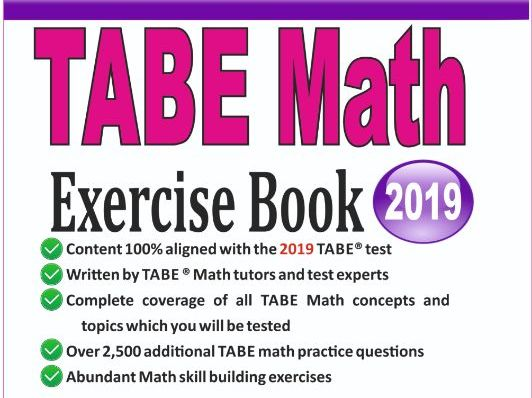 TABE Math Exercise Book: Student Workbook