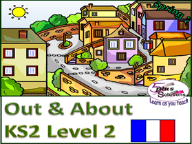 SIX PRIMARY (KS2/3) FRENCH LESSONS: Accommodation, environment, exploring a region, song