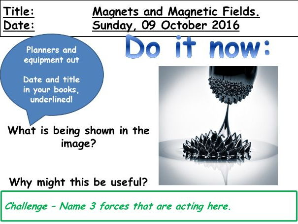 Magnets and Magnetic Fields (KS3)