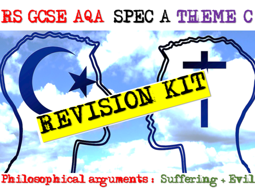 Philosophical Arguments - God + Suffering, Exam Practice 9-1 AQA RS