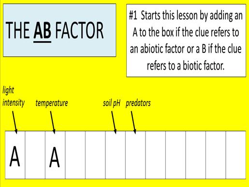 AQA GCSE Biology B7 REVISION (Ecology)