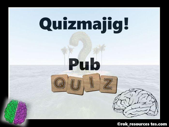 Pub Quiz - Quizmajig