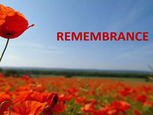 Remembrance Day - 11th November