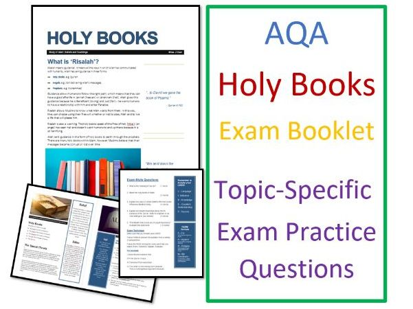 AQA Islam Beliefs: Risalah and Holy Books - Exam Booklet