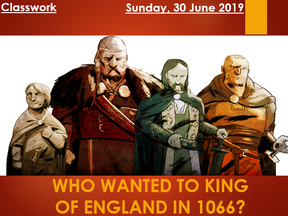 Claimants to the Throne in 1066
