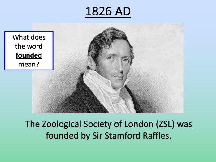 The history of London Zoo - KS1/KS2