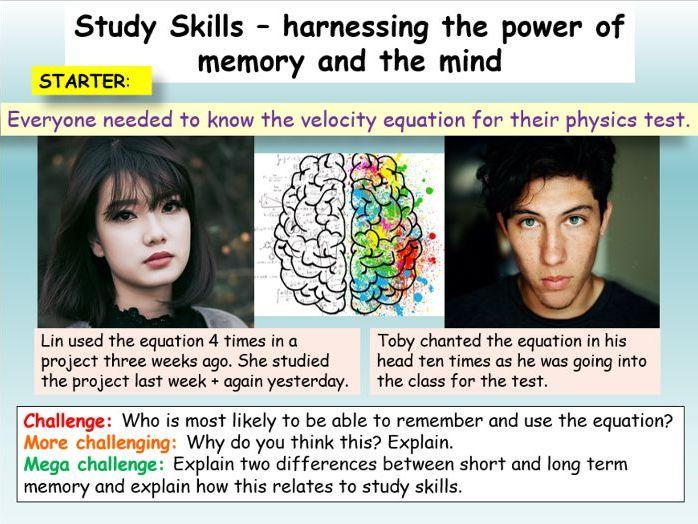 Revision Skills + Memory