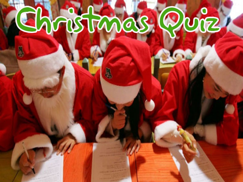 2018 Massive 1Hour Christmas Quiz