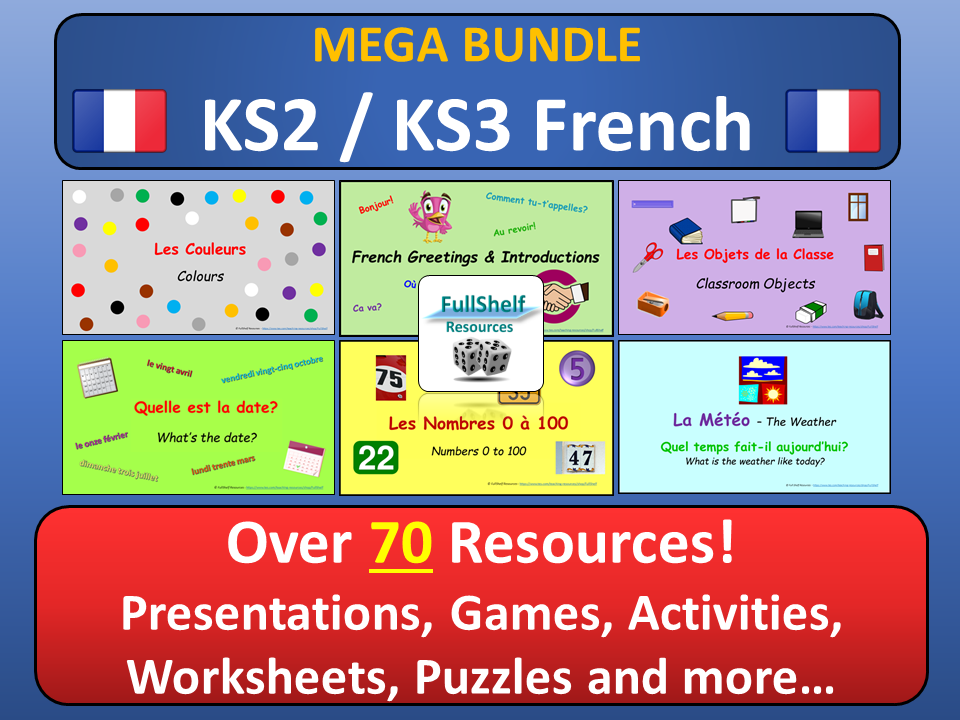 French Beginners KS2 / KS3