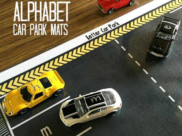 Alphabet Car Park Mats