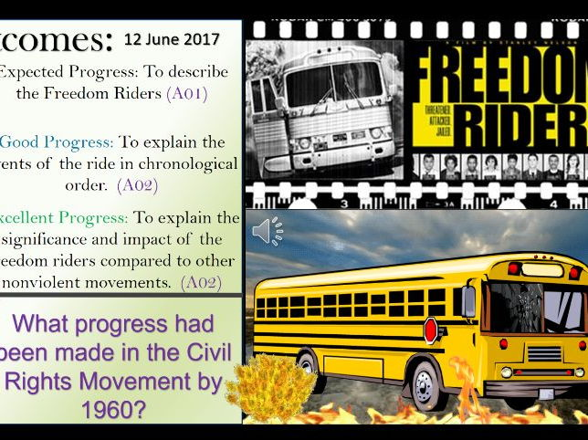 American Civil Rights: The Freedom Riders.