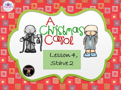A Christmas Carol. Complete resources for lesson 4, stave 2. GCSE AQA English Literature 9-1