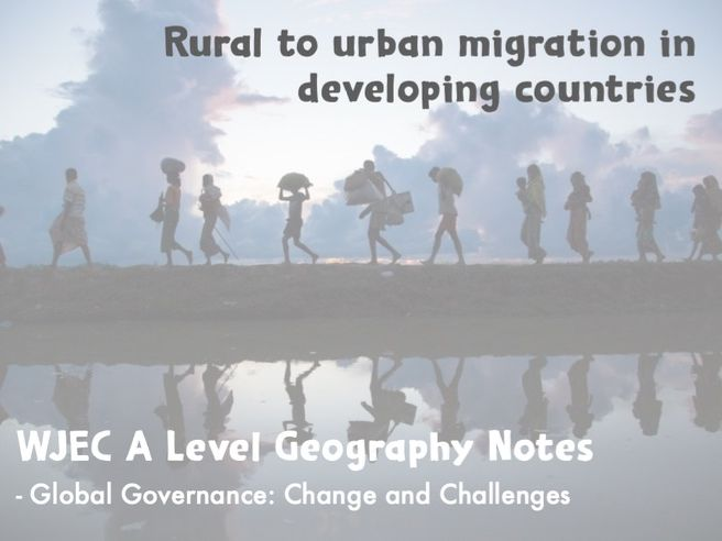 Global Systems and Global Governance PP 5 (A Level Geography)