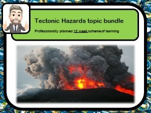 Tectonic hazards topic bundle