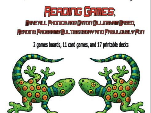 Reading Games: Orton Gillingham - Phonics Fun