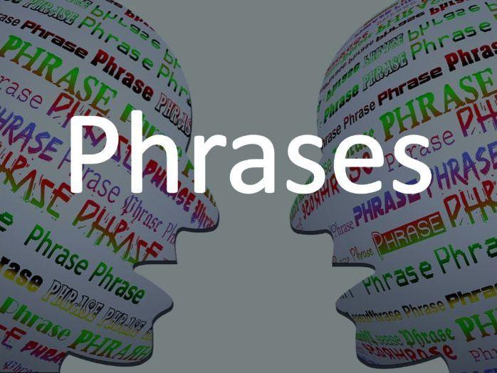 Grammar - Phrases introduction