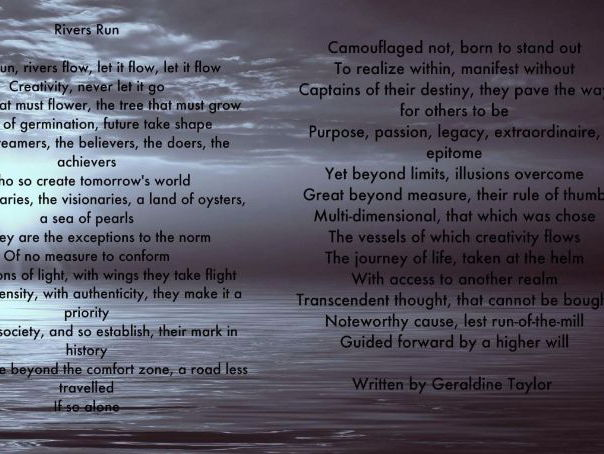 Rivers Run - Audio Poem