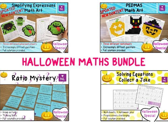 Halloween Maths Special BUNDLE