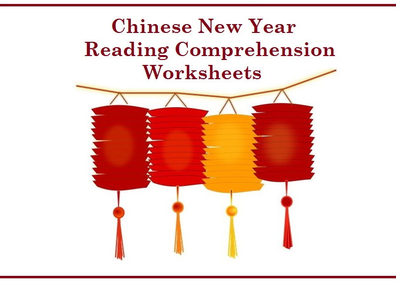 Chinese New Year - Reading Comprehension Worksheets (SAVE 60%)