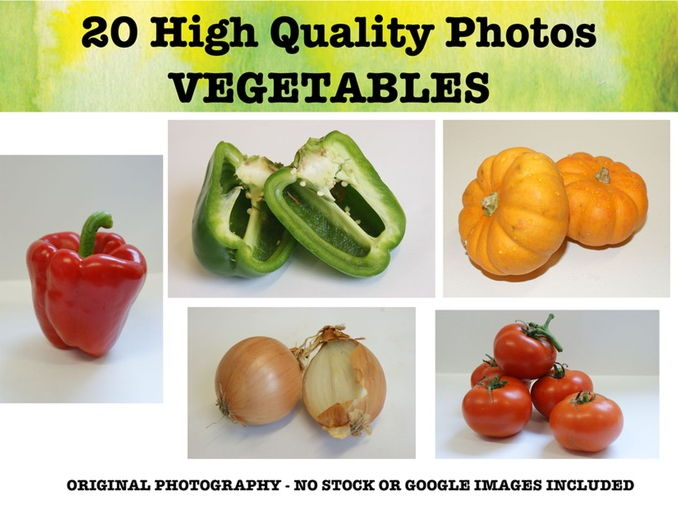 Vegetables - Photo resource pack