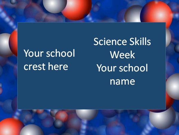 Science skills week (week 1 lesson 4) Following a method KS3
