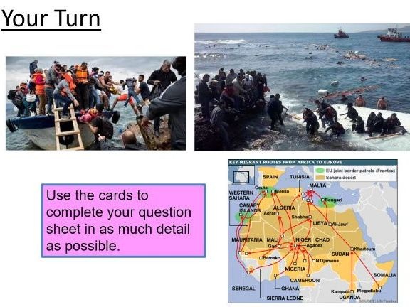 Mystery - on migration from North Africa to Europe