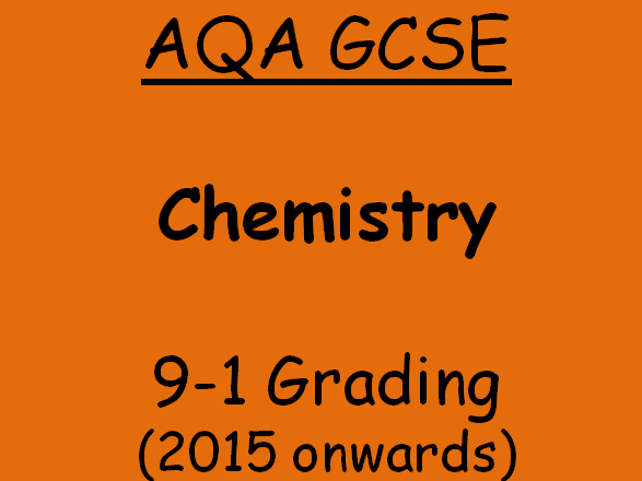 AQA GCSE C5.2 Displacement Reactions
