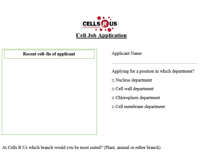 The Family Understanding Family Dynamics and Strengthening Family – Cells R Us Worksheet Answers
