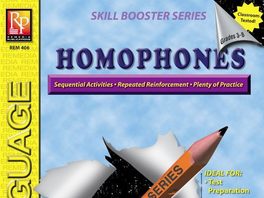 Homophones: Skill Booster Series