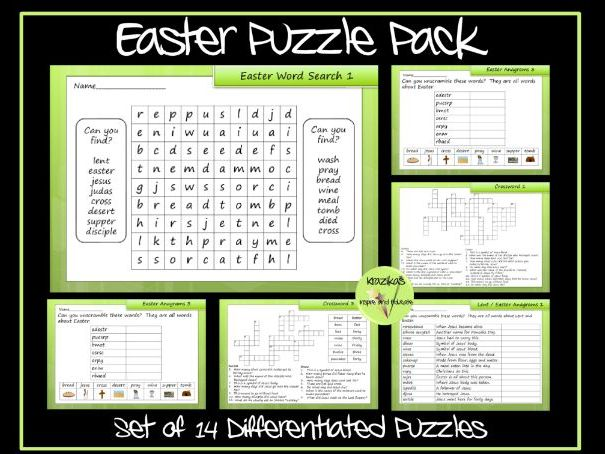 Easter Puzzle Pack