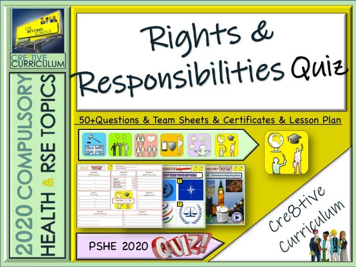 Rights & Responsibilities Quiz