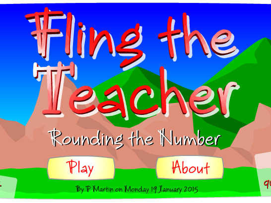 Starter or Plenary Game involving the Rounding of Numbers.