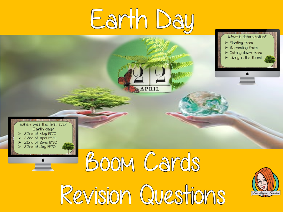 Earth Day Revision Questions
