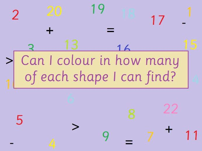 KS1 Maths 2D Shape Recognition Activity