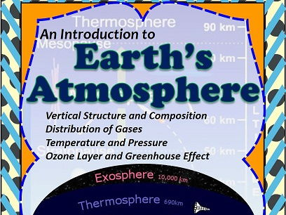 Earth's Atmosphere - Composition/Structure/Ozone layer/Greenhouse effect - Unit Plan with Worksheets