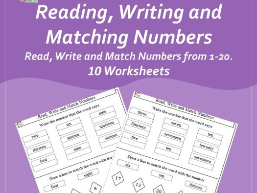 Reading, Writing and Matching Numbers