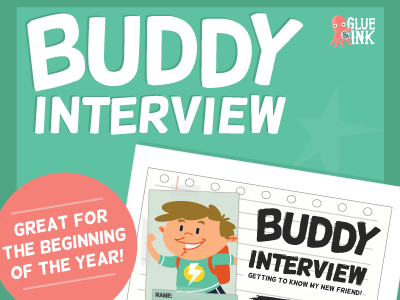 Buddy Interview – Getting to Know My New Friend!