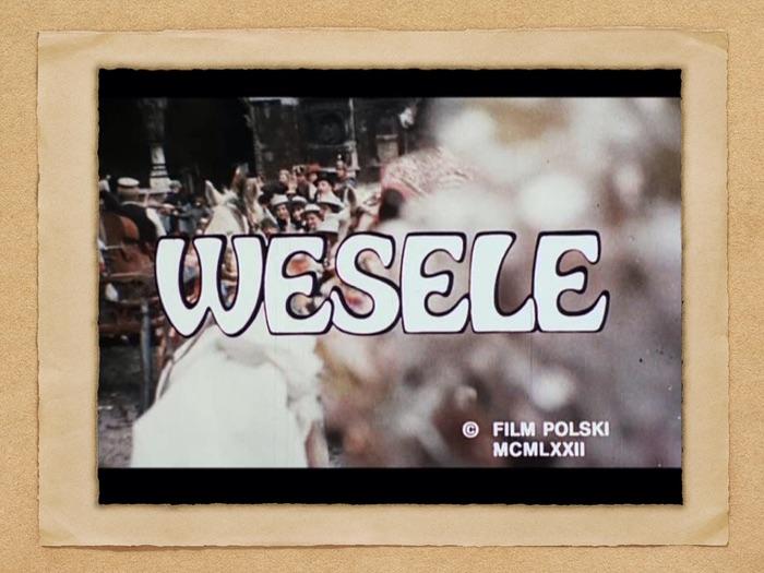 A-level Polish Streszcznie Filmu/Dramatu Wesele