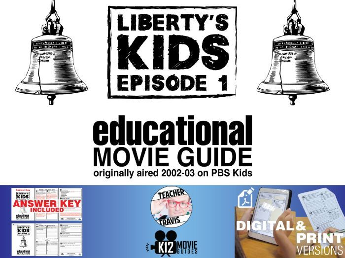 Liberty's Kids - The Boston Tea Party (E01) - Movie Guide | Worksheet