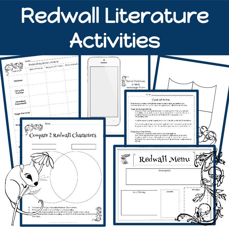 Redwall Activities- Brian Jacques' Book Redwall