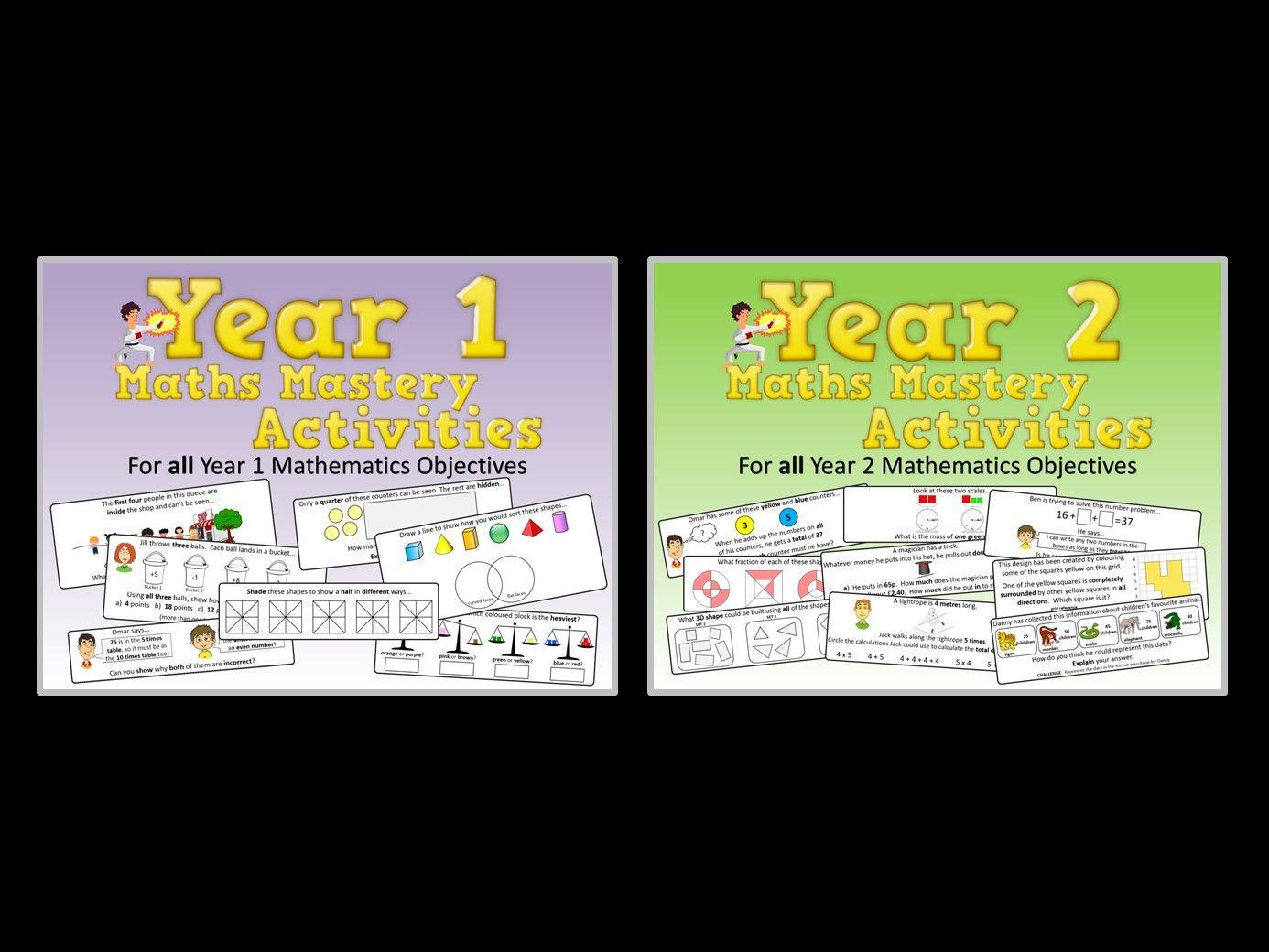 KS1 Maths Mastery Pack