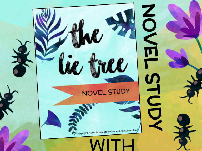 The Lie Tree Novel Study + STEAM BUNDLE