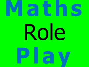 Negative Numbers - Role Play Task