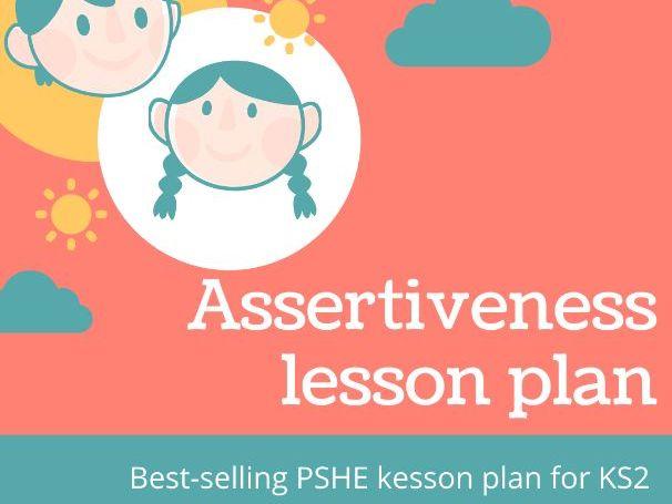 Being assertive- PSHE lesson plan for KS2