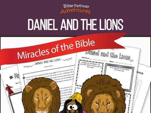 Bible Miracles: Daniel and the Lions