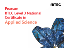 BTEC Applied Science; Unit 1, Topic C1; Revision