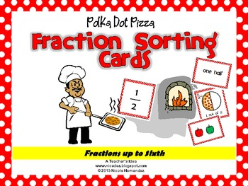 Fractions Sorting Cards